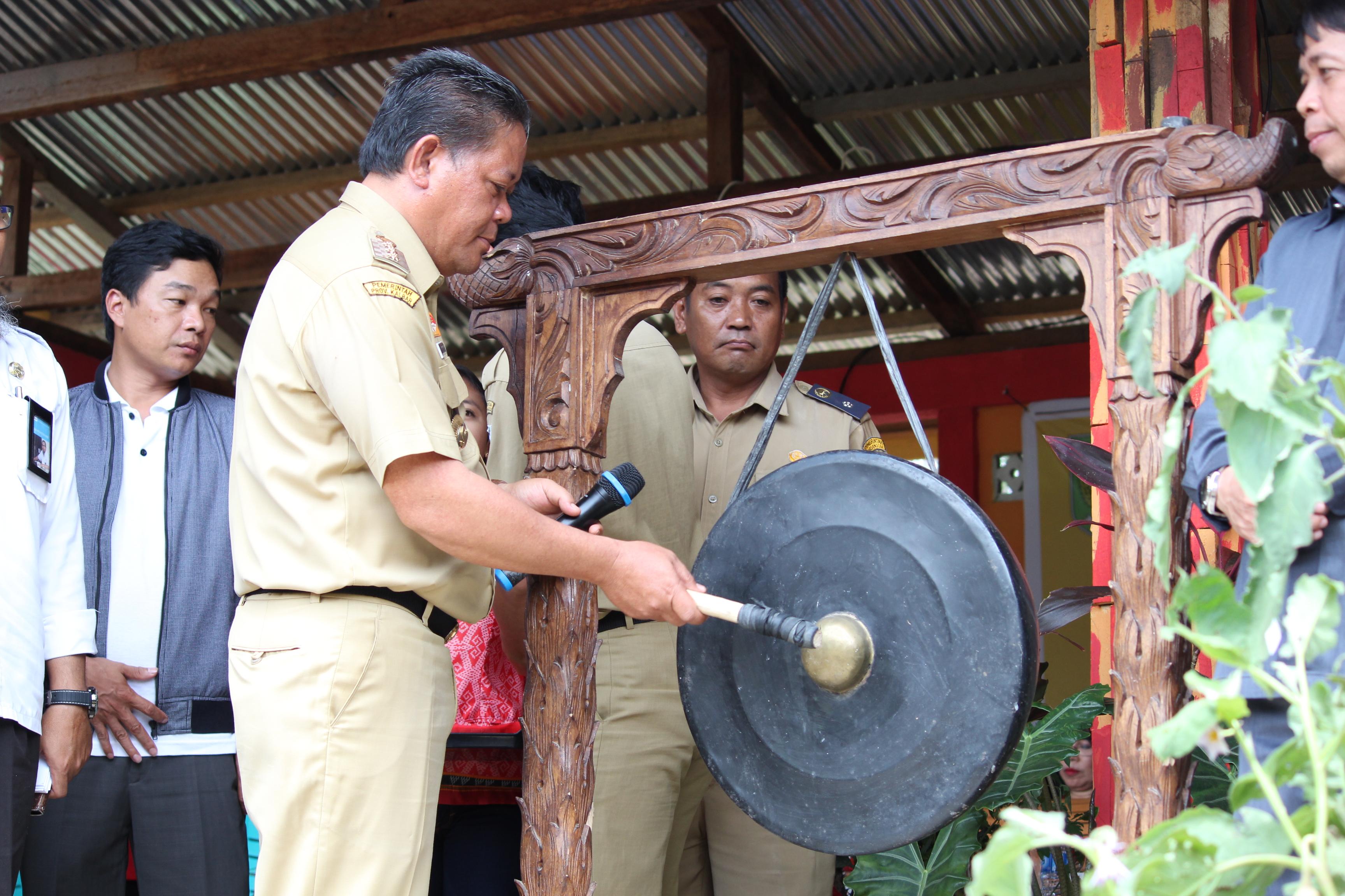 Pencanangan Kampung KB Di Desa Sebara Kecamatan Parindu