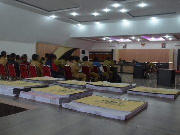 PENYAMPAIAN DHKP DAN SPPT PBB-P2 DI KECAMATAN KAPUAS TAHUN 2018
