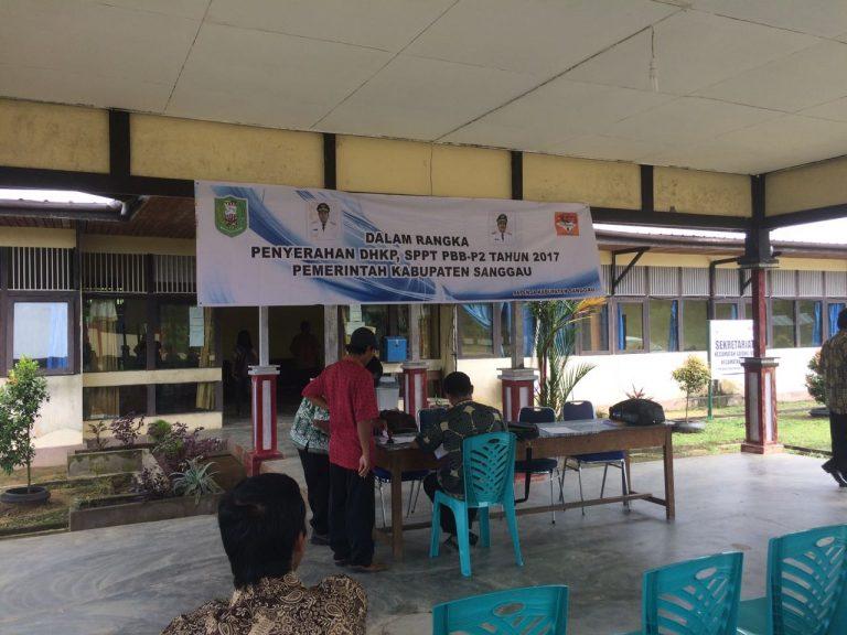 PENYAMPAIAN DHKP DAN SPTT TAHUN 2017 DI KECAMATAN TOBA
