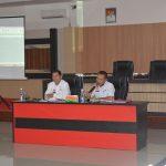 Rapat Evaluasi Perubahan Target Penetapan Pendapatan Asli Daerah ( PAD ) dengan SKPD Pemungut.