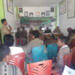 Untuk menghasilkan pangan yang aman dan layak untuk dikonsumsi, Disbunnak Sanggau lakukan sosialisasi PAH-ASUH