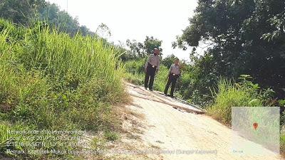 Kapolsek Mukok Beserta Bhabinkamtibmas Laksanakan Patroli