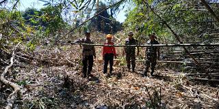 Patroli Terpadu, Upaya TNI-Polri di Kecamatan Toba Cegah Karhutla