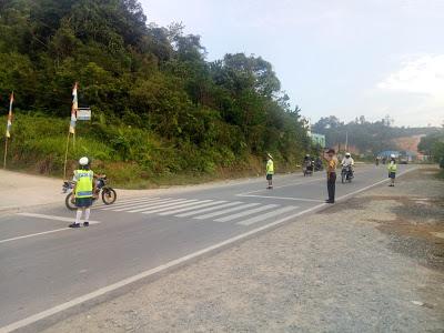 Strong Point Pagi Bersama Anak PKS di Persimpangan Jalan Training Center