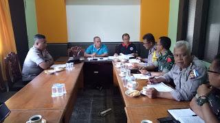 Kabag Ops Polres Sanggau Ikuti Rapat Koordinasi Menjelang HUT RI