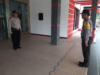 Kabag Ops Polres Sanggau Ikuti Gladi Upacara Kotor Bendera