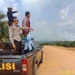 Antisipasi Karhutla Polsek Tayan Hilir Pantau Titik Hospot