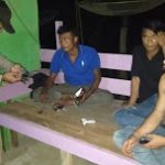 Bhbinkamtibmas Beserta Anggota Polsek Mukok Laksanalan Cipkon Rawan Tempat Kriminalitas