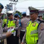 Propam Polres Sanggau Priksa Surat Kendaraan Anggota Menjelang Ops Patuh Kapuas 2019