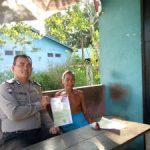 Bersama Bhabinsa Bripka Gunawan Setiawan Laksanakan Patroli