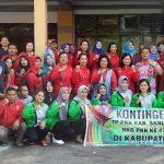Sebanyak 100 Peserta Tim PKK Kabupaten Sanggau Ikuti BBGRM XVI dan HKG PKK ke-47 di Kabupaten Sambas