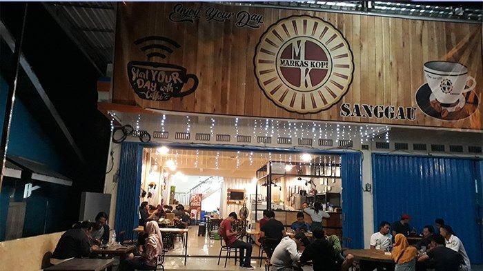TRIBUNWIKI: Cari Tempat Ngopi Strategis di Kota Sanggau, Cafe Markas Kopi Rekomendasi Untuk Anda