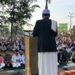 Ribuan Umat Muslim di Kota Sanggau Ikuti Salat Idul Adha di Halaman Kantor Bupati
