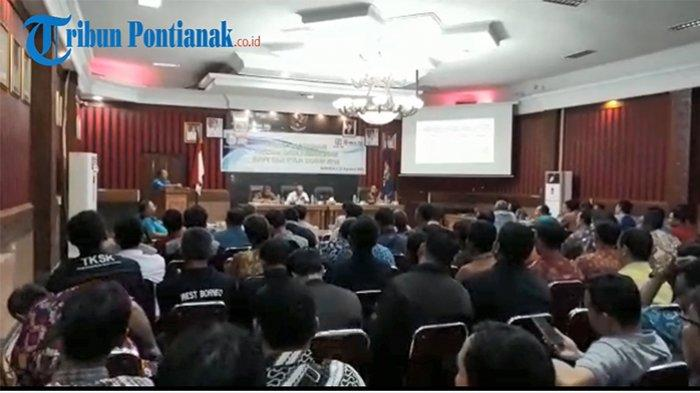 VIDEO: Suasana Rakor Verival Data Kemiskinan BPNT dan RTLH Kabupaten Sanggau