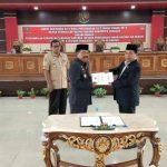 DPRD Sanggau Gelar Paripurna Pengambilan Keputusan Dua Raperda