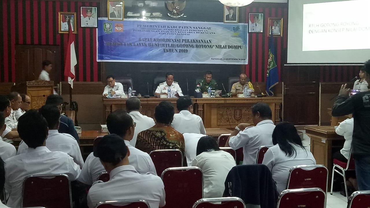 Sebanyak 46 Rumah Tak Layak Huni di Sanggau Segera Diperbaiki
