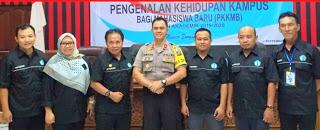 Jadi  Narasumber Acara PKKMB PSDKU Polnep Sanggau, Ini yang Disampaikan Wakapolres Sanggau