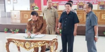 Empat Raperda Inisiatif DPRD Sanggau Disetujui