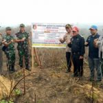 Kapolres Sanggau Segel Lahan di Areal PTPN XIII