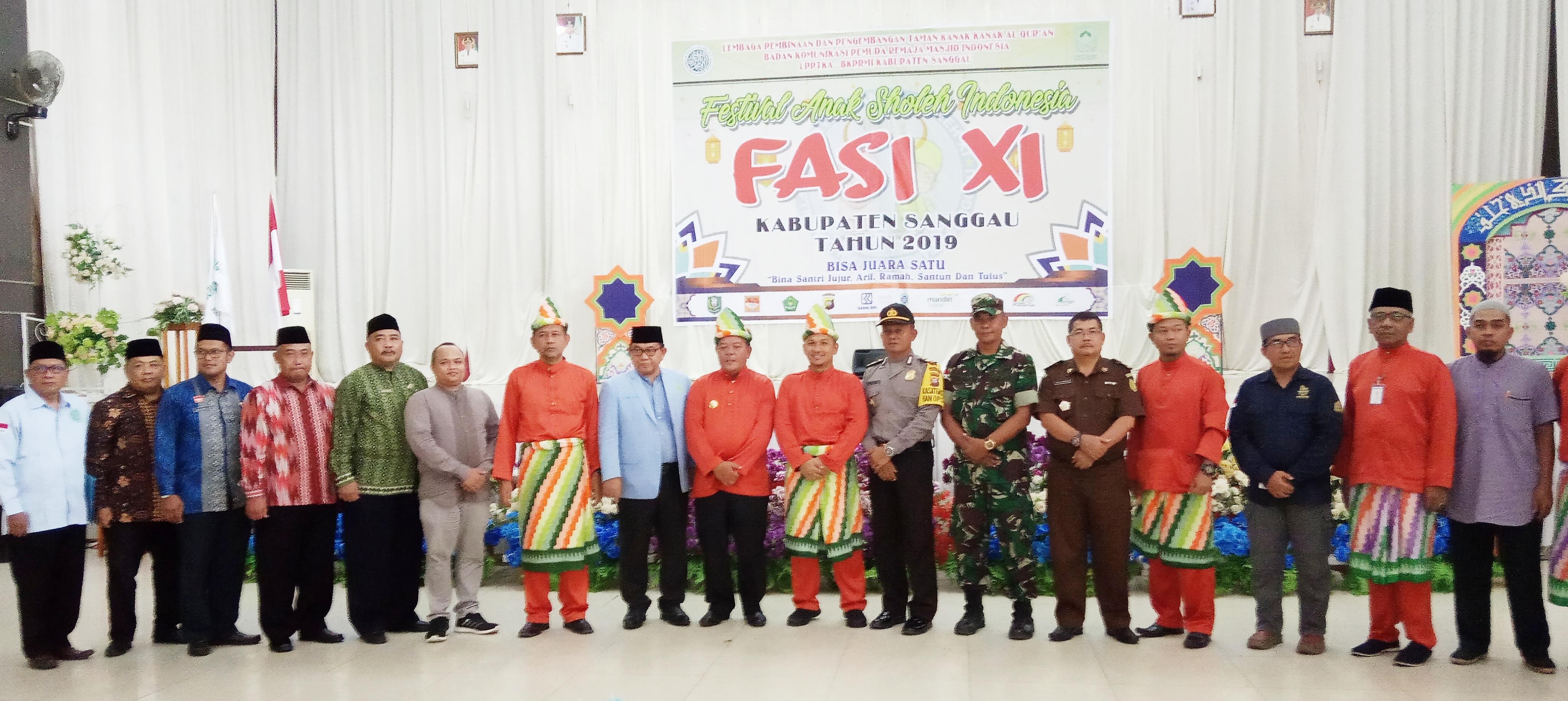 FASI XI Tingkat Kab.Sanggau Resmi di Mulai, Bupati: Sanggau Siap Menjadi Tuan Rumah Ajang FASI Tingkat Provinsi Kalbar Tahun 2020