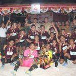 Bupati Sanggau hadiri Penutupan Turnamen Sepak Bola Mungguk Pasir