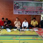 Bhabinkamtibmas Hadiri Undangan Rapat Tahunan Koperasi Perkebunan Badak Surya Lestari