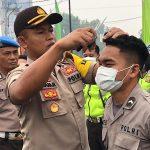 Kapolres Sanggau Cek Sikap Tampang Anggota Polres Sanggau