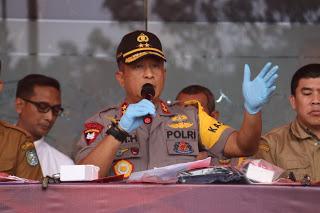 4 Pelaku Pencuri Aki Jaringan Rectangular Tower Telekomunikasi Diungkap Polda Kalbar