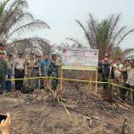 Kapolres Sanggau Pimpin Penyegelan Lahan PTPN XIII
