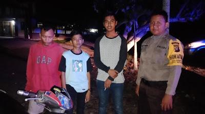 Sambangi Pemuda Desa Binaan Bhabinkamtibmas Himbau Jauhi Narkoba