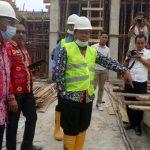 Bupati dan Kajari Sanggau Tinjau Pembangunan RSUD M Th Djaman