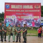 Kesdam XII Tpr Gelar Baksos Kesehatan di Perbatasn RI-Malaysia Entikong