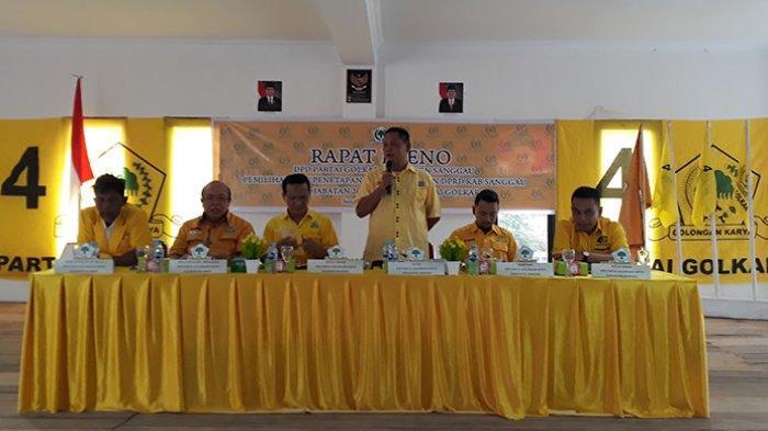 Golkar Sanggau Usulkan Tiga Nama Calon Pimpinan DPRD Sanggau Periode 2019-2024