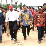 PANEN PADI DAN LAUNCHING EKSPOR BERAS KE MALAYSIA