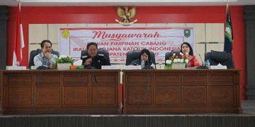 Muscab ke-II ISKA Sanggau, Bupati Harap Peranan dalam Pembangunan Daerah