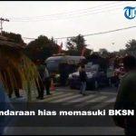VIDEO: Suasana Pawai Kendaraan Hias Memasuki BKSN Tahun 2019 di Kabupaten Sanggau
