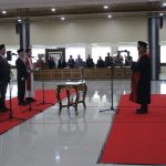 Tiga Unsur Pimpinan DPRD Kabupaten Sanggau Resmi di Lantik