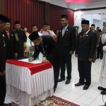 Bupati Sanggau Melantik Pejabat Pimpinan Tinggi Pratama, Administrator dan Pengawas di Lingkungan Pemkab Sanggau