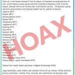 Hoaks Gelombang Panas Melanda Wilayah Indonesia