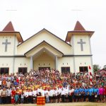 Bupati Dan Wakil Bupati Sanggau Hadiri Acara Peresmian Gereja Stasi Modang Kec. Toba