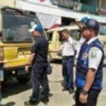 Inspeksi Kendaraan Angkutan Umum di Terminal Oplet (angkot) Kec.Kapuas Kab.Sanggau