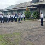 Kadis Perhubungan Kabupaten Sanggau Pimpin Apel Perdana