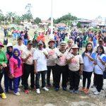 HUT PMI ke-74, PMI Sanggau Gelar Jalan Santai