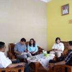 Tim Evaluator Independen Institut Dayakologi Audiensi dengan Kadis Bunnak