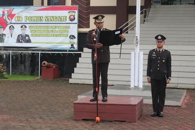 Polres Sanggau Laksanakan Upacara Peringatan Hari Kesaktian Pancasila