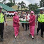 Kejutan Manis Polres Sanggau di HUT TNI ke-74
