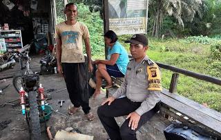Patroli Dialogis Bhabinkamtibmas Sambangi Bengkel Warga Binaan
