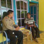 Waspadi Pencurian Rumah Kosong Bhabinkamtibmas Patroli Sambang Kepada Masyarakat