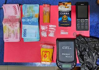 Satres Narkoba Polres Sanggau Amankan Pengedar Narkotika di Sosok