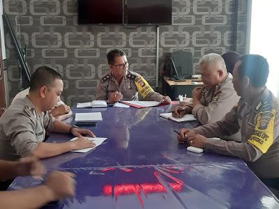 Anev Mingguan Bag Ops Polres Sanggau